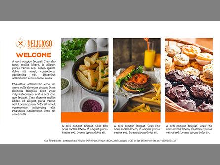 Restaurant Catalog Presentation Template, Slide 2, 03836, Presentation Templates — PoweredTemplate.com