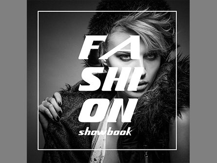 Fashion Showbook Brochure, 03837, Presentation Templates — PoweredTemplate.com