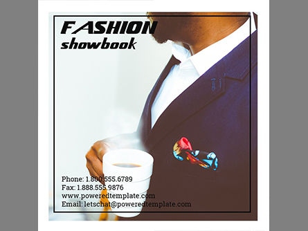 Fashion Showbook Brochure, Slide 10, 03837, Presentation Templates — PoweredTemplate.com