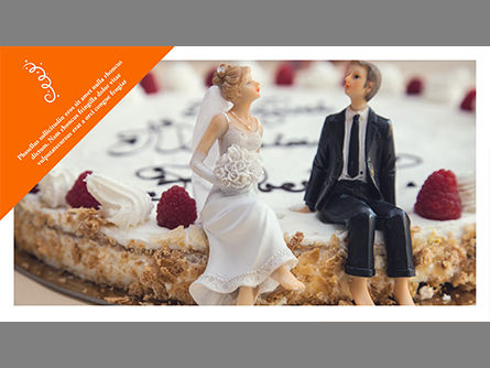 Wedding Photo Album Brochure Template, Slide 3, 03838, Presentation Templates — PoweredTemplate.com