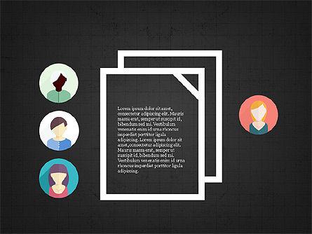 Shapes and Relations, Slide 10, 03840, Shapes — PoweredTemplate.com