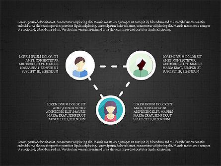 Shapes and Relations, Slide 9, 03840, Shapes — PoweredTemplate.com