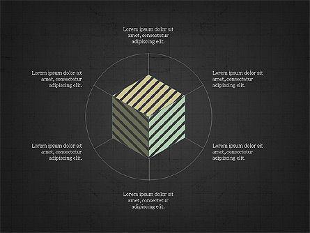 Geometrical Presentation Concept, Slide 12, 03841, Business Models — PoweredTemplate.com