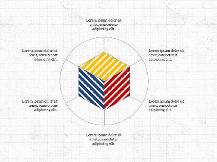 Geometrical Presentation Concept, Slide 4, 03841, Business Models — PoweredTemplate.com