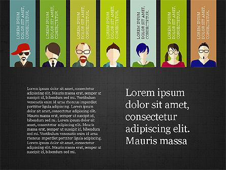 Human Resources Slide Deck, Slide 11, 03842, Shapes — PoweredTemplate.com