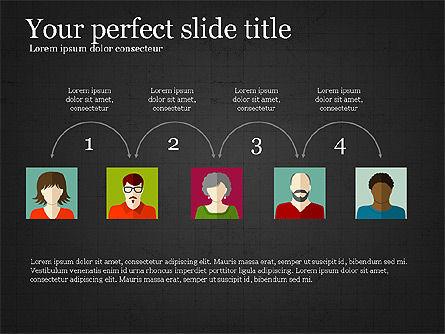 Human Resources Slide Deck, Slide 12, 03842, Shapes — PoweredTemplate.com