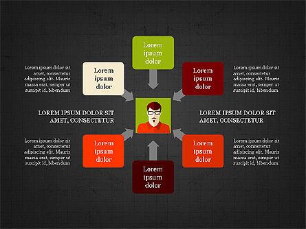 Human Resources Slide Deck, Slide 15, 03842, Shapes — PoweredTemplate.com