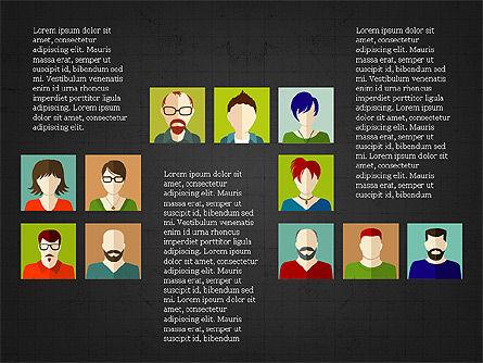 Human Resources Slide Deck, Slide 16, 03842, Shapes — PoweredTemplate.com