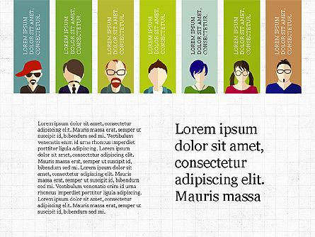 Human Resources Slide Deck, Slide 3, 03842, Shapes — PoweredTemplate.com