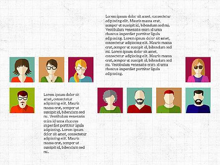 Human Resources Slide Deck, Slide 5, 03842, Shapes — PoweredTemplate.com