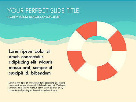 Presentation Templates: Beach Vacation Slide Deck #03843