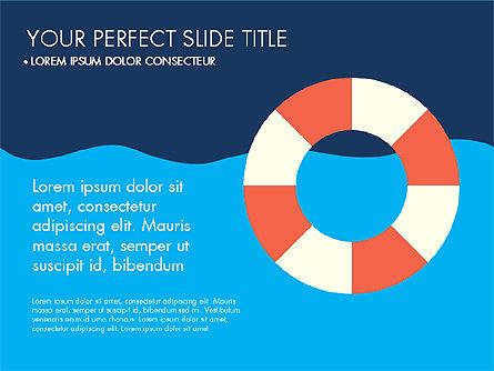 Beach Vacation Slide Deck, Slide 9, 03843, Presentation Templates — PoweredTemplate.com