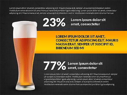 Beer Infographics Presentation Deck, Slide 11, 03844, Infographics — PoweredTemplate.com