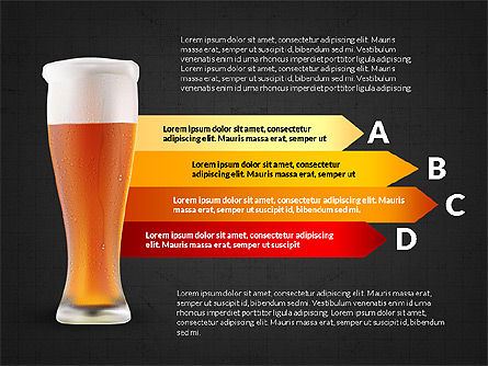 Beer Infographics Presentation Deck, Slide 13, 03844, Infographics — PoweredTemplate.com