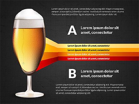 Beer Infographics Presentation Deck, Slide 14, 03844, Infographics — PoweredTemplate.com