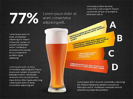 Beer Infographics Presentation Deck, Slide 15, 03844, Infographics — PoweredTemplate.com