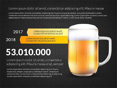 Beer Infographics Presentation Deck, Slide 16, 03844, Infographics — PoweredTemplate.com