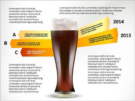 Beer Infographics Presentation Deck, Slide 2, 03844, Infographics — PoweredTemplate.com