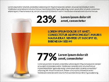 Beer Infographics Presentation Deck, Slide 3, 03844, Infographics — PoweredTemplate.com