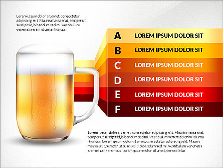 Beer Infographics Presentation Deck, Slide 4, 03844, Infographics — PoweredTemplate.com