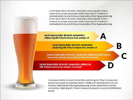 Beer Infographics Presentation Deck, Slide 5, 03844, Infographics — PoweredTemplate.com