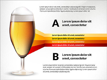 Beer Infographics Presentation Deck, Slide 6, 03844, Infographics — PoweredTemplate.com