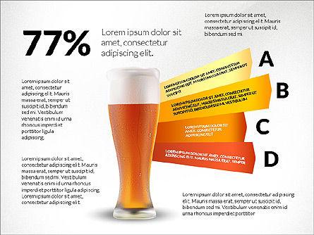 Beer Infographics Presentation Deck, Slide 7, 03844, Infographics — PoweredTemplate.com