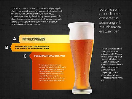 Beer Infographics Presentation Deck, Slide 9, 03844, Infographics — PoweredTemplate.com