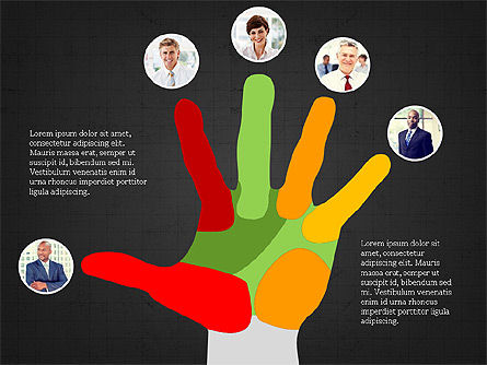 Leadership Presentation Deck, Slide 10, 03846, Presentation Templates — PoweredTemplate.com