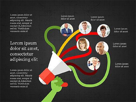 Leadership Presentation Deck, Slide 11, 03846, Presentation Templates — PoweredTemplate.com