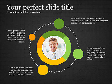 Leadership Presentation Deck, Slide 12, 03846, Presentation Templates — PoweredTemplate.com