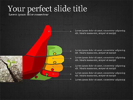 Leadership Presentation Deck, Slide 13, 03846, Presentation Templates — PoweredTemplate.com