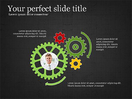 Leadership Presentation Deck, Slide 14, 03846, Presentation Templates — PoweredTemplate.com