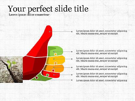 Leadership Presentation Deck, Slide 5, 03846, Presentation Templates — PoweredTemplate.com