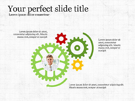 Leadership Presentation Deck, Slide 6, 03846, Presentation Templates — PoweredTemplate.com