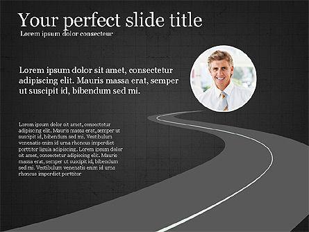 Leadership Presentation Deck, Slide 9, 03846, Presentation Templates — PoweredTemplate.com