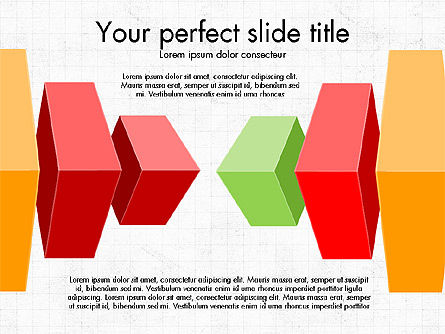 3D Compound Shapes Slide Deck, 03847, Shapes — PoweredTemplate.com