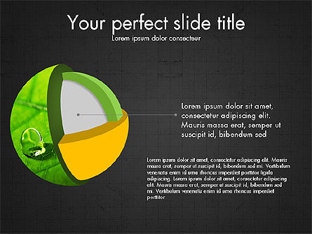 3D Compound Shapes Slide Deck, Slide 10, 03847, Shapes — PoweredTemplate.com