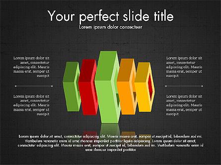 3D Compound Shapes Slide Deck, Slide 11, 03847, Shapes — PoweredTemplate.com