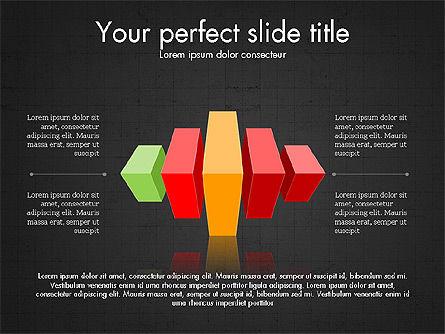 3D Compound Shapes Slide Deck, Slide 13, 03847, Shapes — PoweredTemplate.com