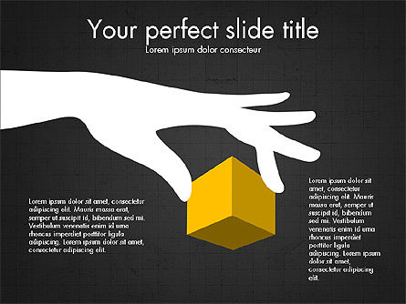 3D Compound Shapes Slide Deck, Slide 16, 03847, Shapes — PoweredTemplate.com