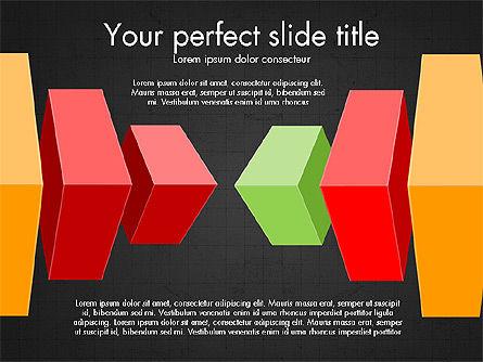 3D Compound Shapes Slide Deck, Slide 9, 03847, Shapes — PoweredTemplate.com