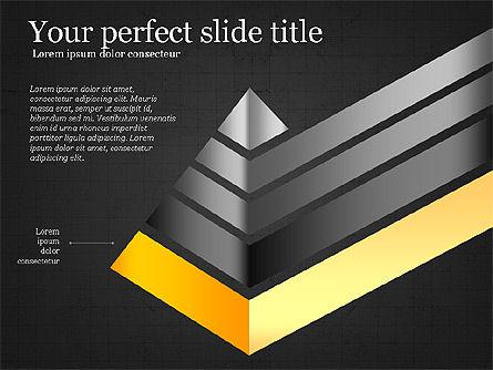 Refraction Through A Prism Diagram, Slide 10, 03848, Shapes — PoweredTemplate.com
