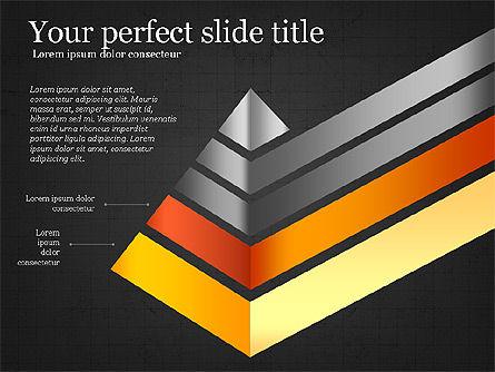 Refraction Through A Prism Diagram, Slide 11, 03848, Shapes — PoweredTemplate.com