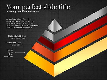 Refraction Through A Prism Diagram, Slide 12, 03848, Shapes — PoweredTemplate.com