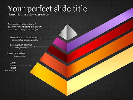 Refraction Through A Prism Diagram, Slide 13, 03848, Shapes — PoweredTemplate.com