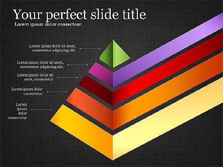 Refraction Through A Prism Diagram, Slide 14, 03848, Shapes — PoweredTemplate.com