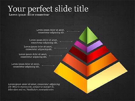 Refraction Through A Prism Diagram, Slide 15, 03848, Shapes — PoweredTemplate.com