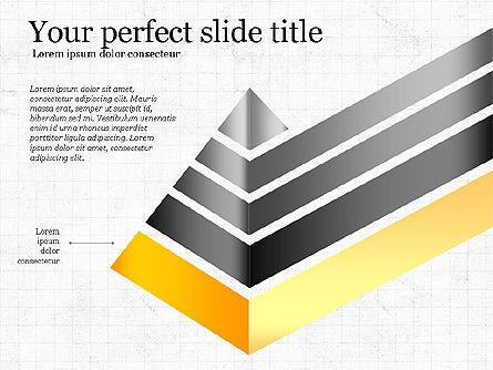Refraction Through A Prism Diagram, Slide 2, 03848, Shapes — PoweredTemplate.com