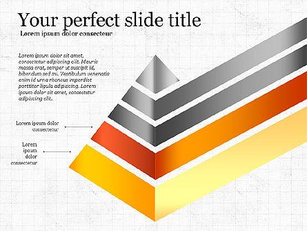 Refraction Through A Prism Diagram, Slide 3, 03848, Shapes — PoweredTemplate.com